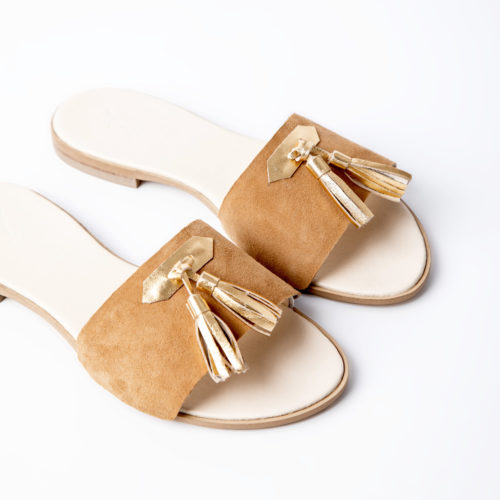 Klipsy GOLDEN SAND NAPPA VOLO SHOES